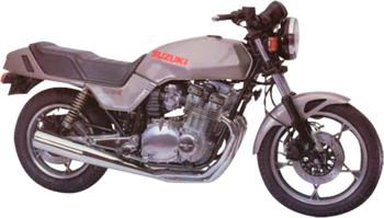 SUZUKI GSX 1100 E (MODELL Z/D)