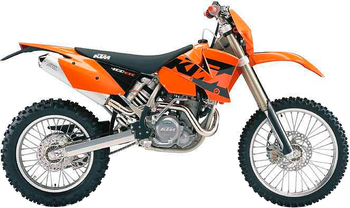 KTM 400 EXC RACING