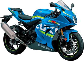 SUZUKI GSX-R 1000 R L7/L8/L9 (EURO 4)