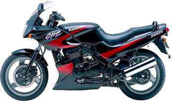 Motorcycle Motorbike Protector Rain Cover For Kawasaki 500Cc Gpz500