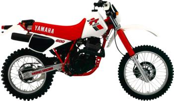 YAMAHA TT 600 N