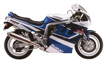 SUZUKI GSX-R 1100 (MODELL M-N)