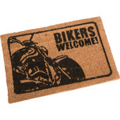 FUSSMATTE*BIKERS WELCOME* MASSE 60X40CM