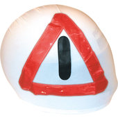 WARNING TRIANGLE COVER FOR INTEGRAL HELMETS