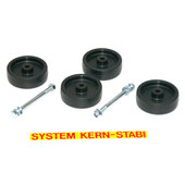 KERN-STABI WHEEL SET FOR