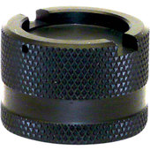 STAHLBUS ALU-CAP FOR OIL DRAIN VALVE, BLACK