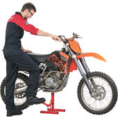 MOTOCROSS-MOTORRADHEBER