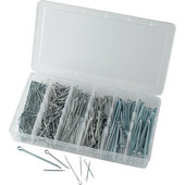 Split Pin Assortment, 555 pieces