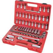 ROTHEWALD SOCKET WRENCH SET, 61-PIECE, METRIC