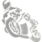 3D AUFKLEBER *MOTORRAD*