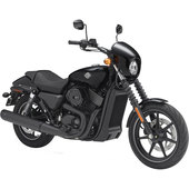 Fertigmodell Harley Davidson Street 750 Maßstab 1:12