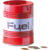 METAL MONEY-BOX *FUEL*
