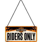 HAENGESCHILD H-D RIDERS MASSE: 200 X 100 MM