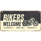 HAENGESCHILD BIKERS MASSE: 20 x 10 cm