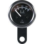 T&T Öltemperatur-Anzeige 48mm, elektronisch, schwarz
