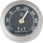T&T THERMOMETER,ST.-STEEL