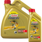 Castrol Power1 4T Engine Oil Mineralic, 20W-50