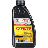 PROCYCLE GEAR OIL SAE 75W-140, GL-5, 1 L