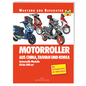 CHINA, TAIWAN, KOREA SCOOTER REP. MANUAL, 288P