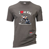 MOTOMANIA T-SHIRT I LOVE MY BIKE