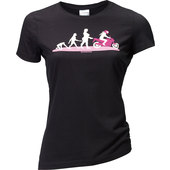 LADIES SHIRT EVOLUTION LADY    SCHWARZ