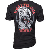 LETHAL THREAT T-SHIRT SPEED NEVER KILLS