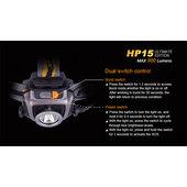 FENIX LED-STIRNLAMPE HP15