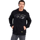 VR46 Logo zip hoodie