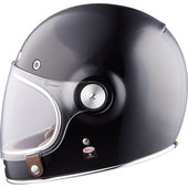 Bullitt Solid Black Integralhelm