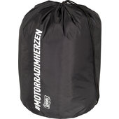 Sports Bag #MOTORRADIMHERZEN 22 litres, black