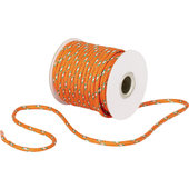 NYLON-ROPE, ORANGE, LENGTH 20M, DIAM. 4MM
