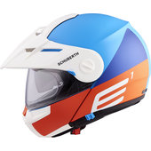 Schuberth E1 Cut Blue Enduro Helm