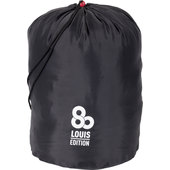 LOUIS80 SPORTS BAG BLACK, CAPACITY 22 LITRES