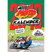 MOTOMANIA KALENDER 2019 GROOT FORMAAT 420 X 594MM