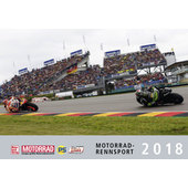 MOTORRAD-GRAND PRIX 2018 KALENDER 475X330MM ,13BL.