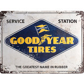 Metal Sign Goodyear