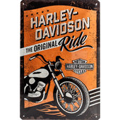 Metal Sign Harley-Davidson