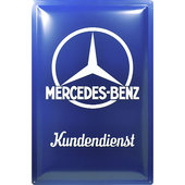 Retro Metal Sign Mercedes-Benz