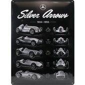 Retro Blechschild Mercedes-Benz