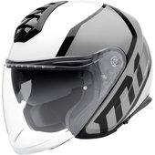 Schuberth M1 Flux Silver Jet Helmet