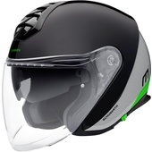 Schuberth M1 Gravity Green jethelm