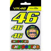 VR46 stickerset 6-dlg.