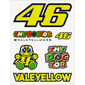 VR46 STICKER-SET