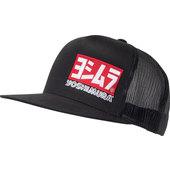 Yoshimura Snapback Mesh Cap Unigröße Schwarz