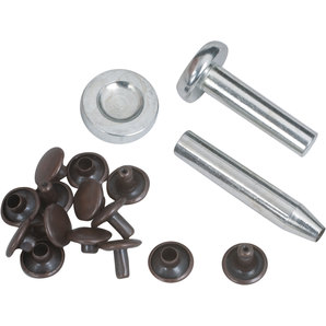 Rivets 9 mm Copper with Assembly Tools
