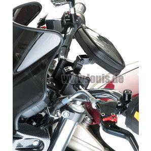 acheter fixation gps r glable pour guidon de 22 mm louis motos et loisirs. Black Bedroom Furniture Sets. Home Design Ideas