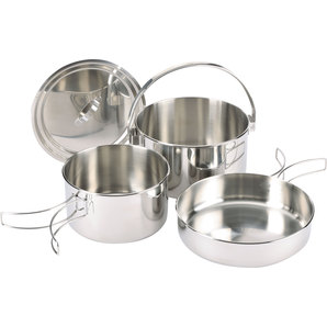 ZEBRA CAMPING COOK SET