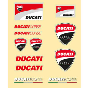 DUCATI STICKER-SET