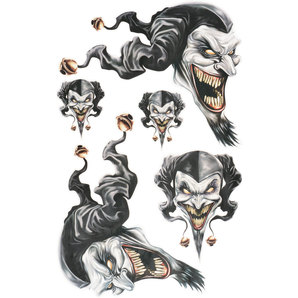 "Stickerset ""Jester"""