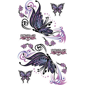 STICKER FLYING BUTTERFLY